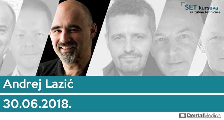 Andrej Lazić: Estetska voštana modelacija u fronti - roza/bela tehnika