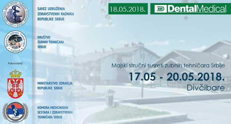 32. Majski stručni susreti zubnih tehničara Srbije