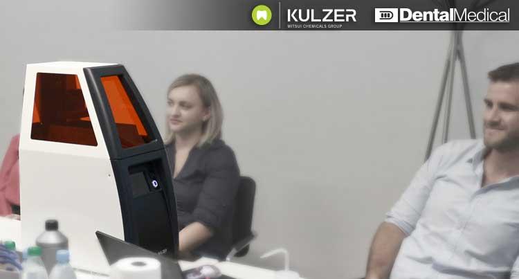 Prezentacija 3D printera caraPrint 4.0 u saradnji sa firmom Kulzer