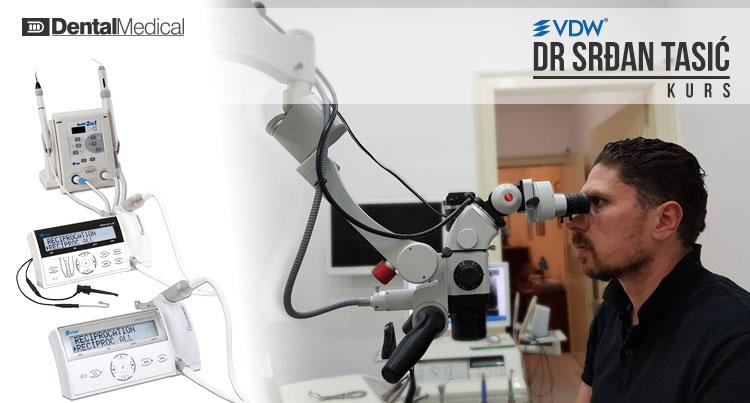 "USKORO: Kurs ""Savremena Endodontska terapija"" - predavač Srđan Tasić"